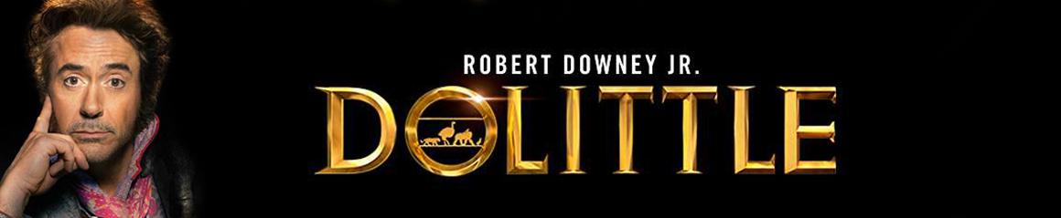 Dolittle Hollywood Movie Banner Cinema